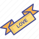 love coupon, coupon, offer, ribbon