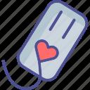 ecard, love card, love greetings, lovers card icon
