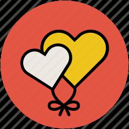 heart shape balloon, heart shape bubble, heart shaped bubble, love balloon icon