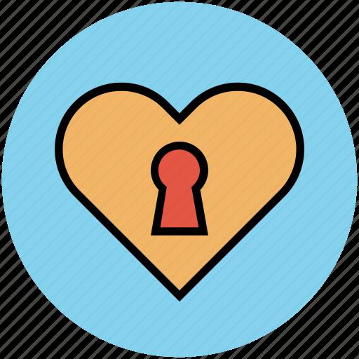 favourite, heart ribbon, like, love, romance, valentine icon