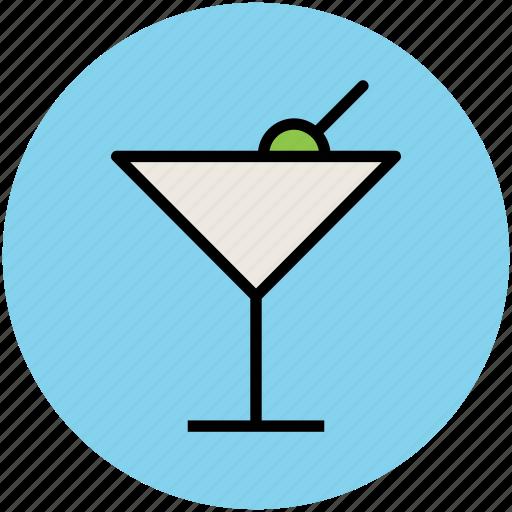 drink, glass, juice, lemonade, margarita, martini icon