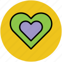 favourite, heart, like, love, romance, valentine icon