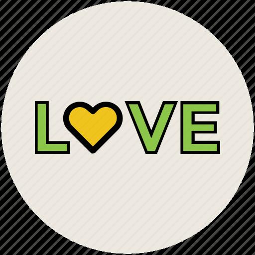love, love sign, love text, love written, text, written icon