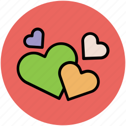 favourite, hearts, like, love, romance, valentine icon