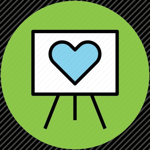 chalkboard, greeting, heart board, love, romance icon