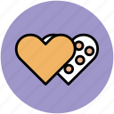 greeting, heart, heart shape, like, love, romance icon