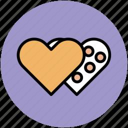 greeting, heart, heart shape, like, love, romance icon