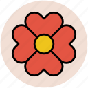 bloom, blossom, decoration flower, decorative, floral, flower icon