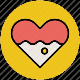 favourite, heart, like, love, romance, valentine icon