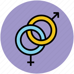 couple, female, gender symbols, male sign, sex symbols icon