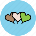 balloons, greeting balloons, heart, heart balloons, love icon
