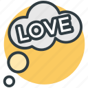 bubbles, love, love concept, love is in air, love theme icon