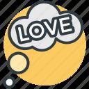 bubbles, love, love concept, love is in air, love theme icon