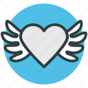 bird, greeting, heart shaped, love sign bird, love theme icon