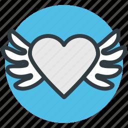 bird, greeting, heart shaped, love sign bird, love theme icon