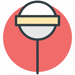 confectionery, lollipop, spiral candy, sweet, sweet snack icon