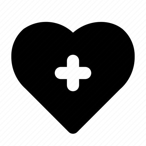 add, heart, love, romance, valentine icon