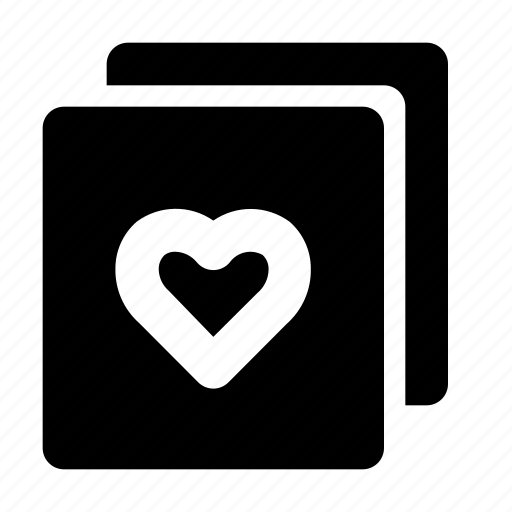 copy, heart, love, romance, valentine icon