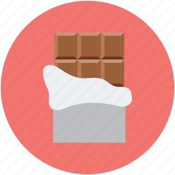candy, chocolate, chocolate bar, dessert, sweet icon