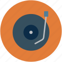 musical player, playing record, record, record vinyl, retro, vinyl icon
