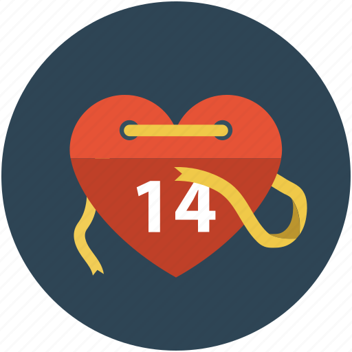 fourteenth february, love heart, valentine concept, valentine heart, valentines day icon
