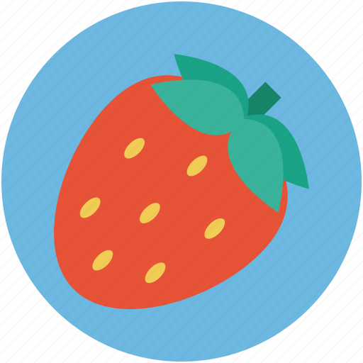 berry, food, fresh, fruit, strawberry icon
