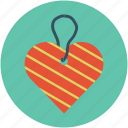 heart shaped label, heart shaped mark, heart shaped tag icon