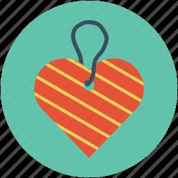 heart shaped label, heart shaped mark, heart shaped tag icon