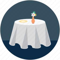 candle light, candle light dinner, festive table, reserved for lovers, restaurant table icon