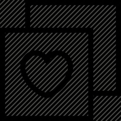 greeting card, heart, love, valentine card, valentine greeting icon icon