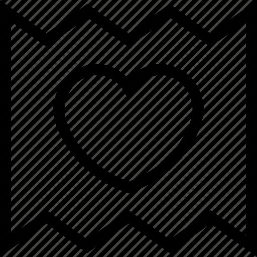 envelope, letter, letter envelope, love letter, romantic letter icon icon