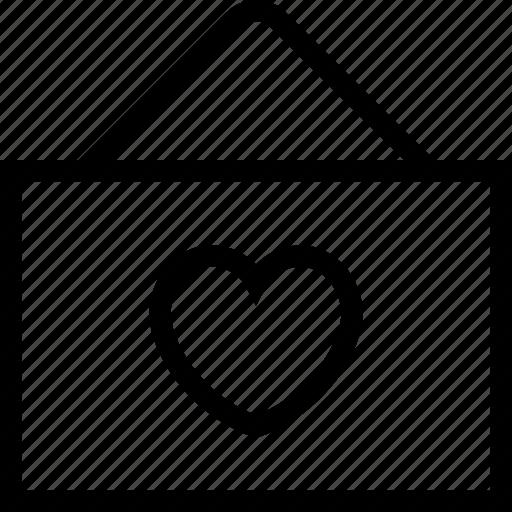 greeting, hanging board, heart board, love, romance icon icon