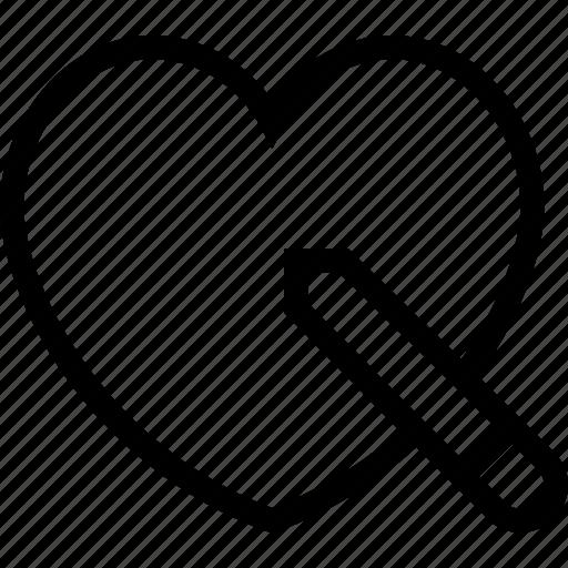 bookmark, edit, favorites, heart, like, love icon icon