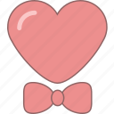 amour, bow, date, february, heart, love, valentine