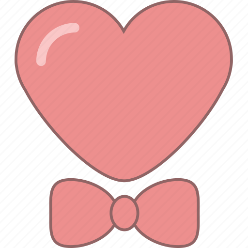 amour, bow, date, february, heart, love, valentine icon