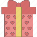 christmas, date, fabruary, gift, love, present, valentine icon