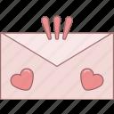 date, envelope, february, love, message, valentine, romantic