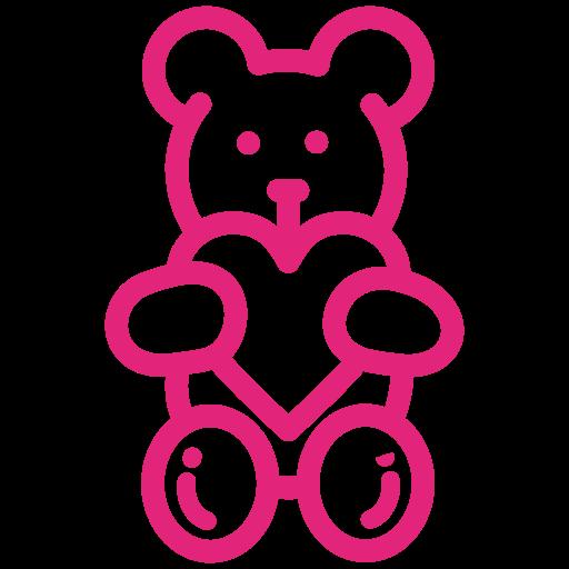 bear, gift, love, toy, valentine icon