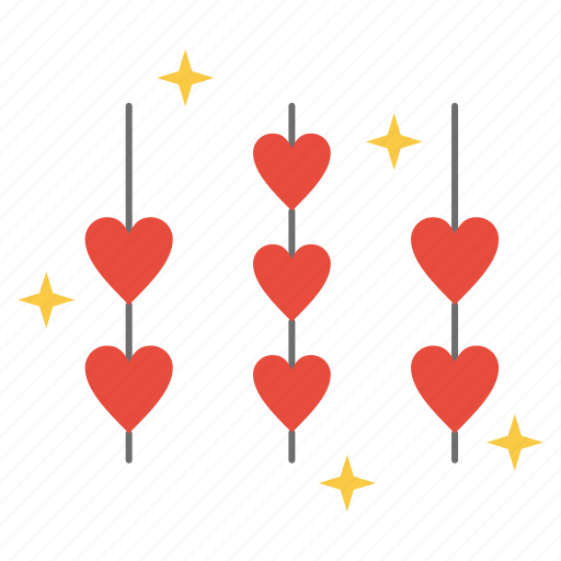 Heart, hearts, love, rope, valentine icon - Download on Iconfinder