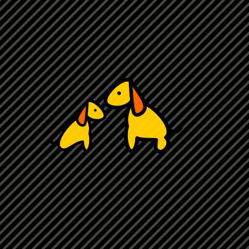 dogs, love, love memes, love pet, pets icon