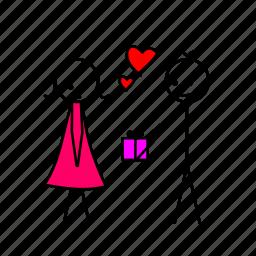 gift, love, love memes, valentine gift icon