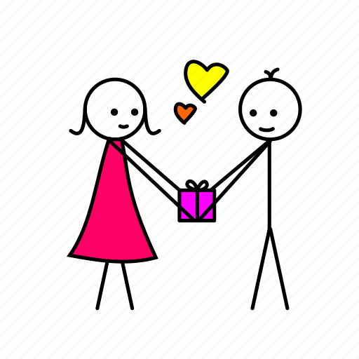 gift, love, love memes, valentine, valentine gift icon