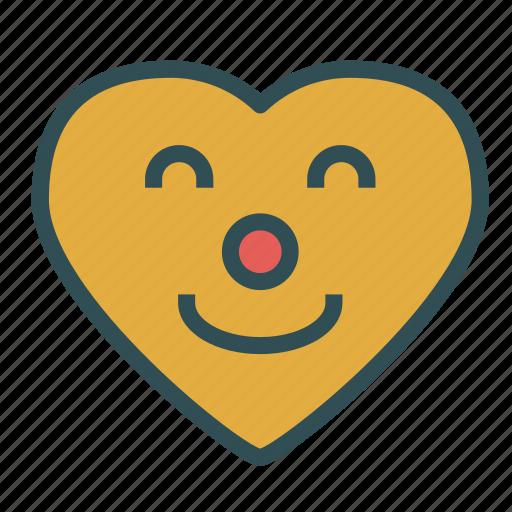 avatar, emoticon, face, heart, love icon