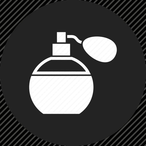 bottle, perfume, toilette icon