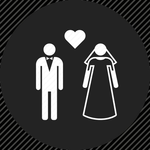 family, marriage, wedding icon