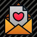 invitation, love, mail, message, romance, valentine, wedding