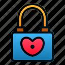 love, marriage, padlock, romance, security, valentine, wedding