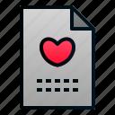 file, invitation, letter, love, romance, valentine, wedding