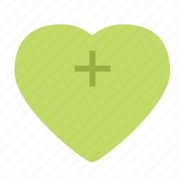 add, heart, love, plus icon