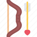 bow, couple, love, marriage, relationship, valentines day icon